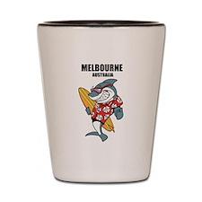 Melbourne, Australia Shot Glass