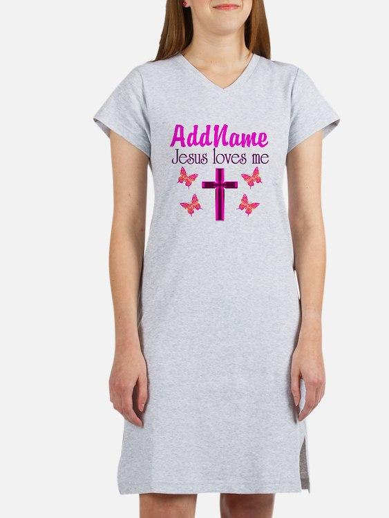 JESUS LOVES ME Women's Nightshirt