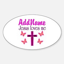 JESUS LOVES ME Decal