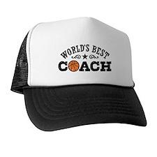World's Best Basketball Coach Trucker Hat