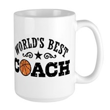 World's Best Basketball Coach Mug