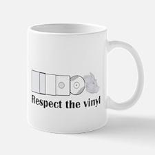 Respect the vinyl Mugs