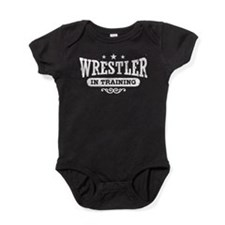 Wrestler In Training Baby Bodysuit
