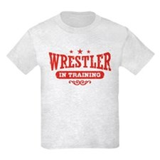 Wrestler In Training T-Shirt