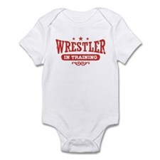 Wrestler In Training Infant Bodysuit