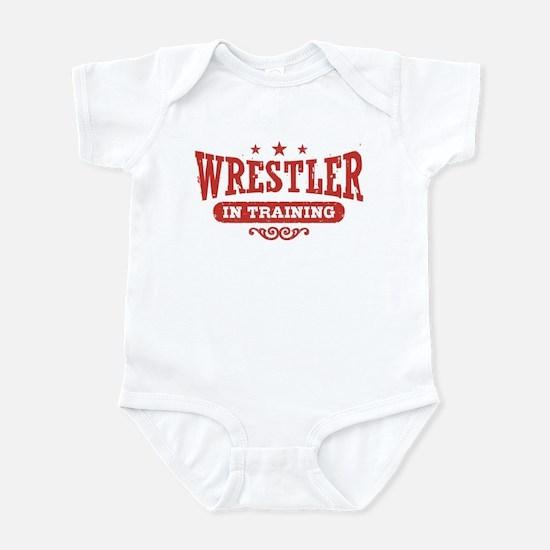 Wrestler In Training Infant Bodysuit