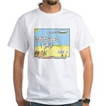 Wandering the Wilderness White T-Shirt