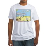 Wandering the Wilderness Fitted T-Shirt