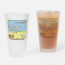 Wandering the Wilderness Drinking Glass
