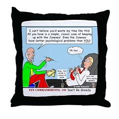 Keeping Up Throw Pillow