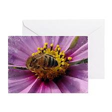 Bee Cosmo Greeting Card