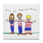 OrthoKids Tile Coaster