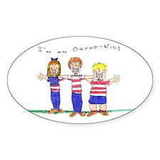 OrthoKids Oval Sticker