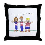 OrthoKids Throw Pillow