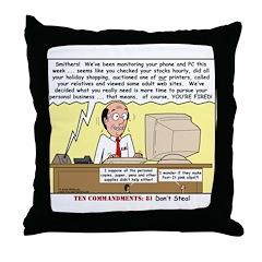 Do Not Steal Throw Pillow