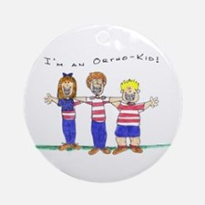 OrthoKids Ornament (Round)