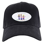 OrthoKids Black Cap