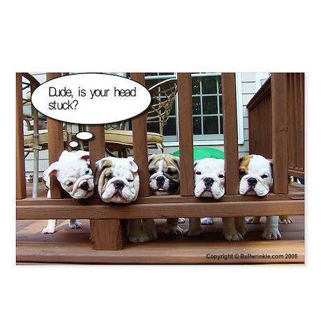 Bulldog Humor Postcards (Package of 8)