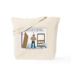 Thief Robbed Tote Bag
