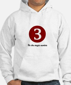 3 Its the Magic Number Hoodie
