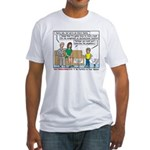 Intact Family Fitted T-Shirt