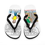 Intact Family Flip Flops