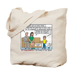 Intact Family Tote Bag