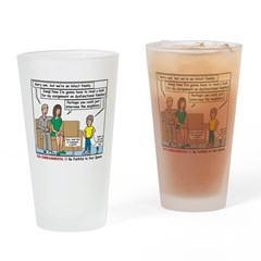 Intact Family Drinking Glass