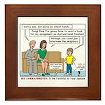 Intact Family Framed Tile