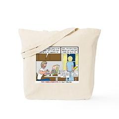 No Murder Tote Bag