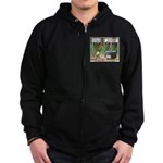 What is for Dinner Zip Hoodie (dark)