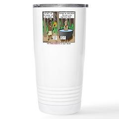 What is for Dinner Stainless Steel Travel Mug