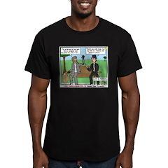 Bums Bragging Men's Fitted T-Shirt (dark)