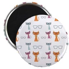 Hip Cats Magnets