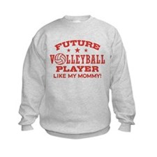 Future Volleyball Player Like My Mommy Jumpers