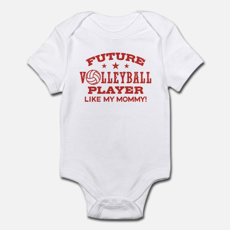 Future Volleyball Player Like My Mommy Infant Body