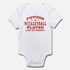 Future Volleyball Player Like My Mommy Onesie
