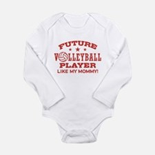 Future Volleyball Player Like My Mommy Onesie Romper Suit