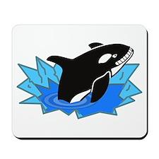 Killer Whale Mousepad
