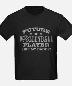 Future Volleyball Player Like My Daddy T