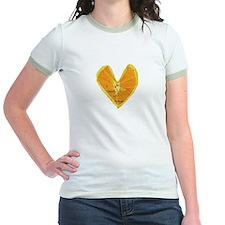 Orange Heart Ringer