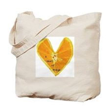 A Heart of Orange Tote