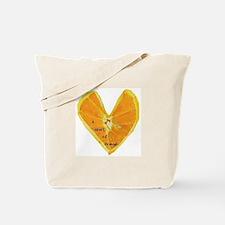A Heart of Orange Tote