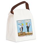 I Swear Canvas Lunch Bag