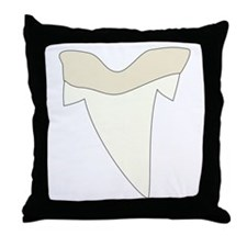 Shark Tooth Throw Pillow