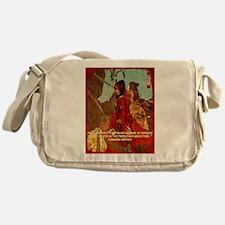 STRENGTH OF THE SAMURAI Messenger Bag