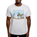Unlucky Horseshoe Light T-Shirt