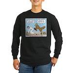 Unlucky Horseshoe Long Sleeve Dark T-Shirt