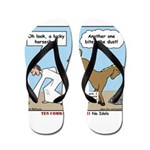 Unlucky Horseshoe Flip Flops