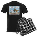 Unlucky Horseshoe Men's Dark Pajamas